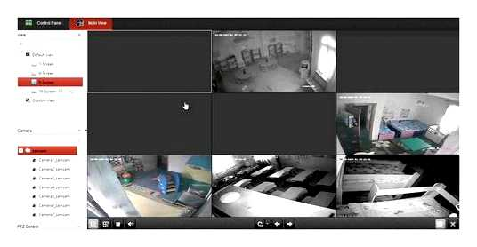 Watch The Video Surveillance Recording On The Street