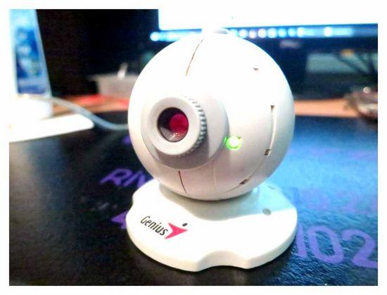 Genius WEB-camera setup