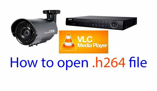 How to open H264 with CCTV camera