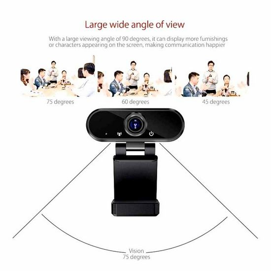 viewing, angle, web-camera