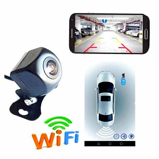 wifi, rear, view, camera