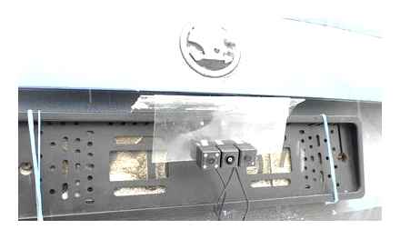 CCD or CMOS rear view camera