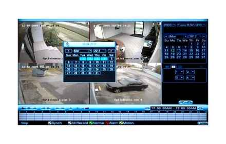 How to play back a CCTV recording