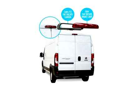 rear, view, camera, fiat, ducato
